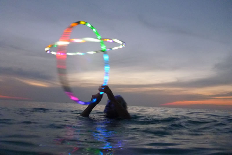 water hooping