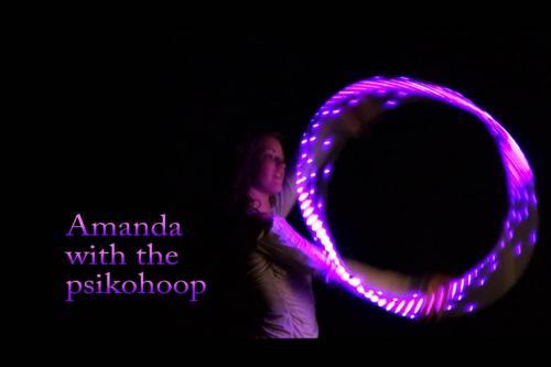 amanda with psikohoop